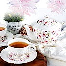 Royal Duke 祕密花園骨瓷英式下午茶組(一壺二杯碟組)