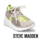 STEVE MADDEN-CLIFF-S潮流重度視覺款拼接鉚釘時尚老爹鞋-特殊紋黃色