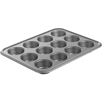 《MASTRAD》Excellia 12格不沾瑪芬烤盤(37.2cm)