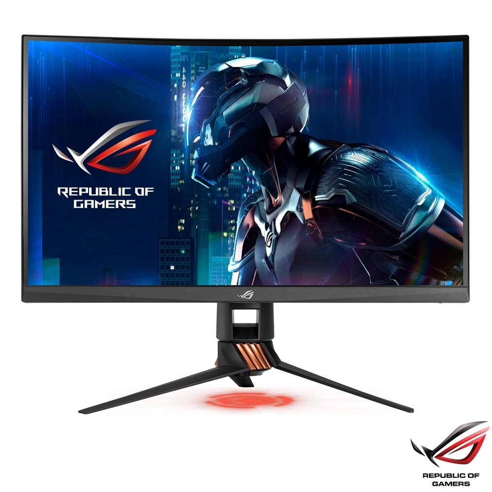 [無卡分期12期] ASUS ROG PG27VQ 27型 2K 曲面電競電腦螢幕