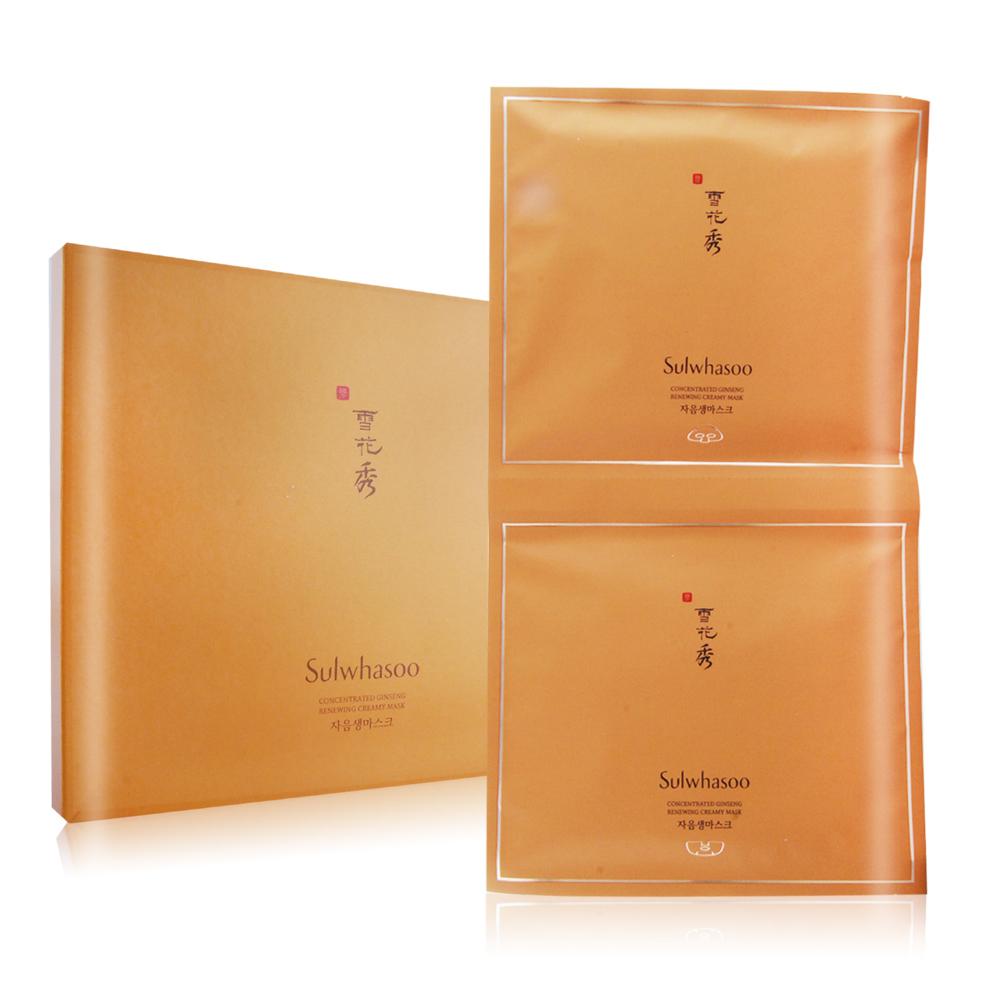 Sulwhasoo 雪花秀 滋陰生人蔘修護霜面膜(1 sheet)