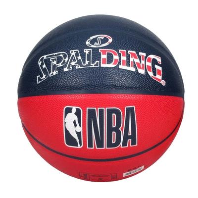 SPALDING NBA #7號合成皮籃球-室內 室外 戶外 運動 7號球 斯伯丁 SPA76487 丈青紅白