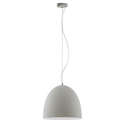 EGLO歐風燈飾 現代白圓弧燈罩式長型大吊燈(不含燈泡)