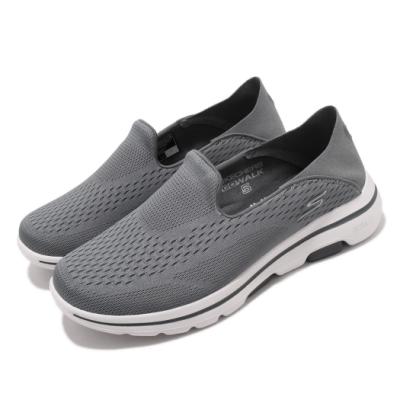 Skechers 休閒鞋 Go Walk 5 套入式 男鞋