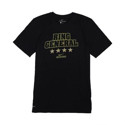 Nike T恤 Boxing Ring General T 男 DRI-FIT 吸濕排汗 快乾 圓領 棉質 黑金 561416010BXRG