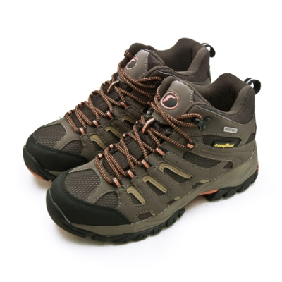 GOODYEAR 固特異 專業多功能郊山戶外鞋 征服系列 咖啡黑 83453