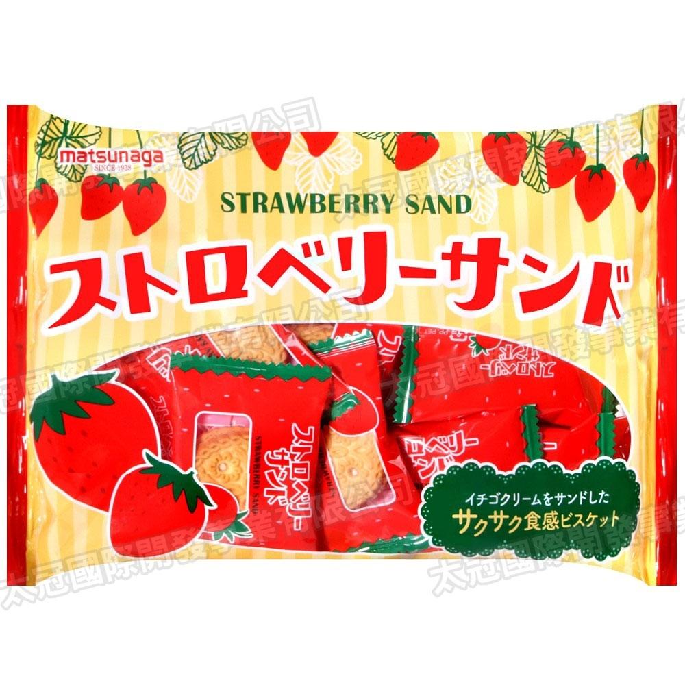 松永 草莓風味夾心餅乾(170g)