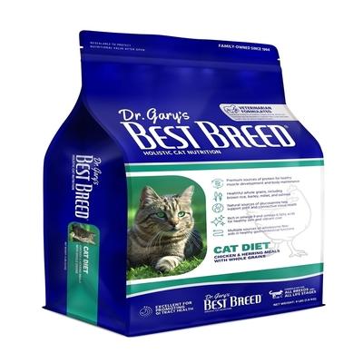 BEST BREED貝斯比-天然珍饌系列-全齡貓配方 4LBS(1.8KG) 2入 全年齡貓隻適用(贈全家禮卷50元1張)(購買兩件贈送寵鮮食零食1包)