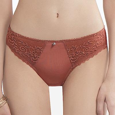 曼黛瑪璉 V極線低腰三角內褲(溫潤棕)