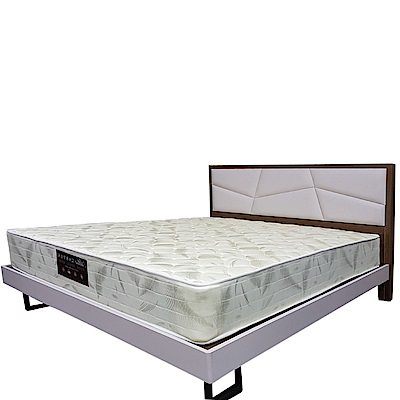 Albert 艾柏 抗菌防蹣6尺雙人加大獨立筒床墊-180x188x22.5cm免組
