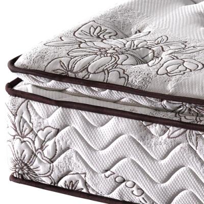 金鋼床墊 正三線乳膠涼爽舒柔加強護背型3.0硬式彈簧床墊-單人特大4尺