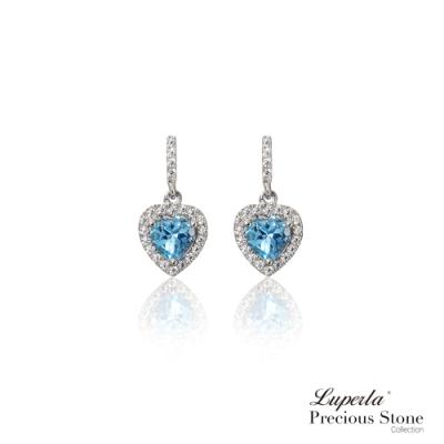 大東山珠寶 璀璨晶鑽托帕石耳環 摯愛