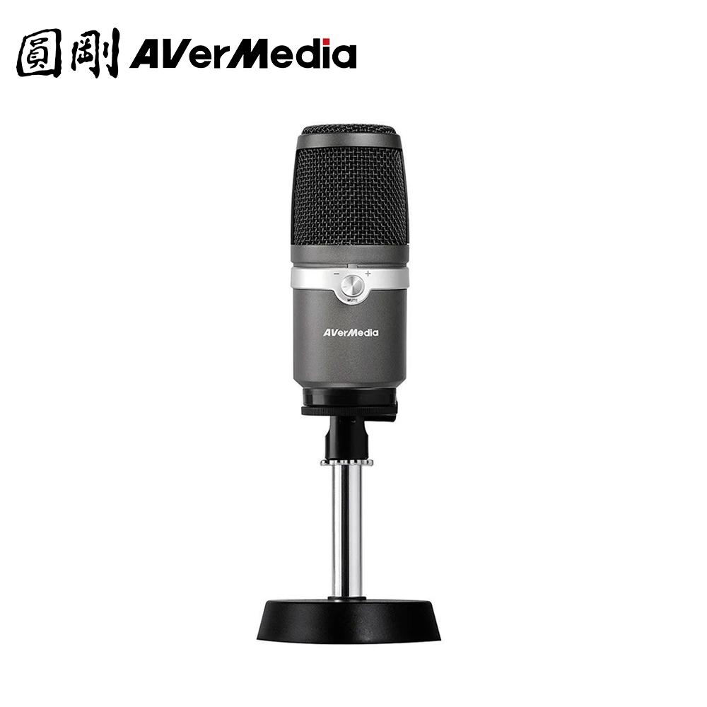 圓剛 AM310 黑鳩 直播錄音USB麥克風