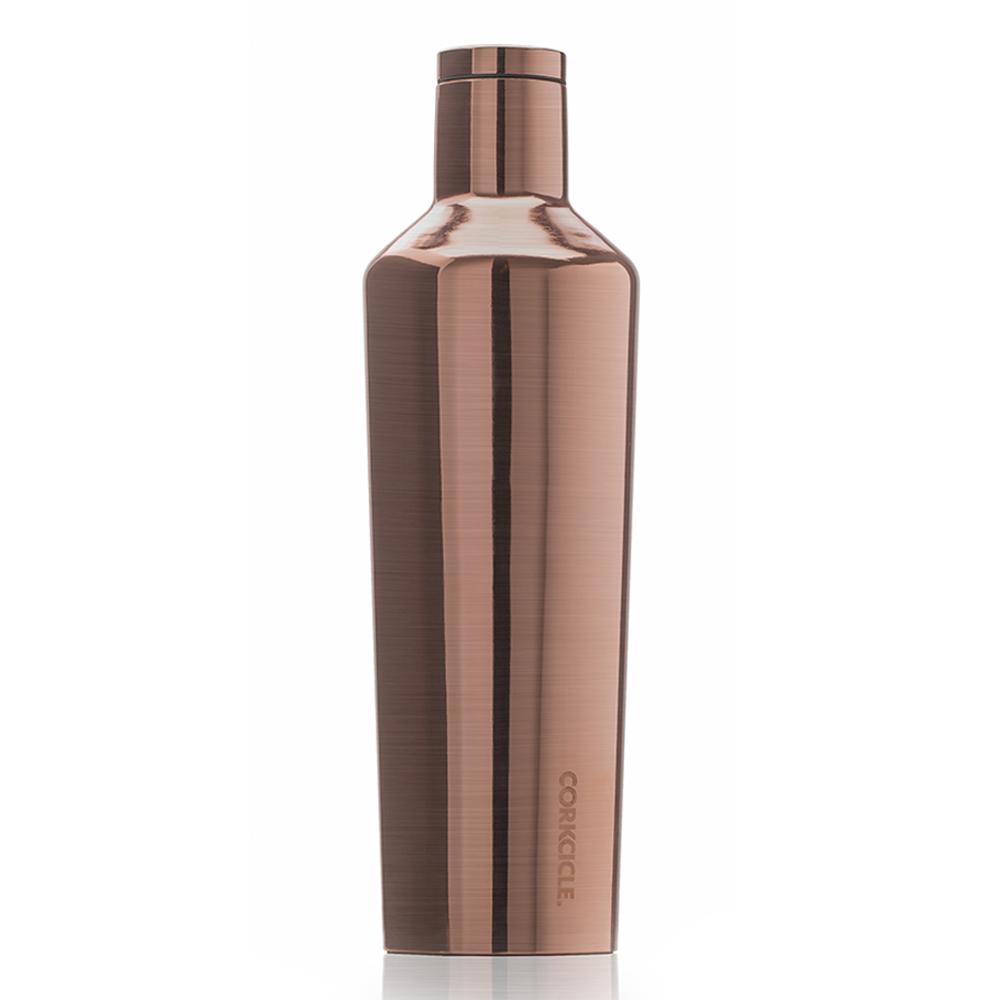 CORKCICLE 酷仕客Metallic系列 三層不鏽鋼易口保溫瓶740ml(古銅)