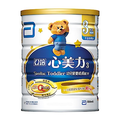 亞培 心美力成長奶粉3號 (1700gX6罐)