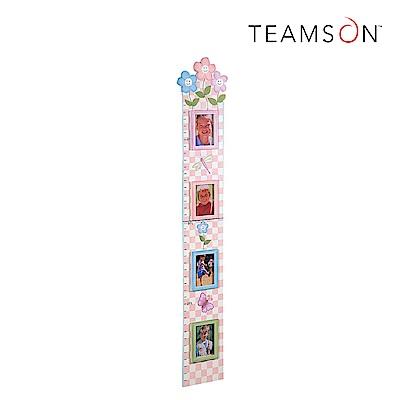 Teamson 浪漫花卉照片成長尺