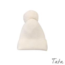 毛球內刷毛毛帽 共五色 TATA-F