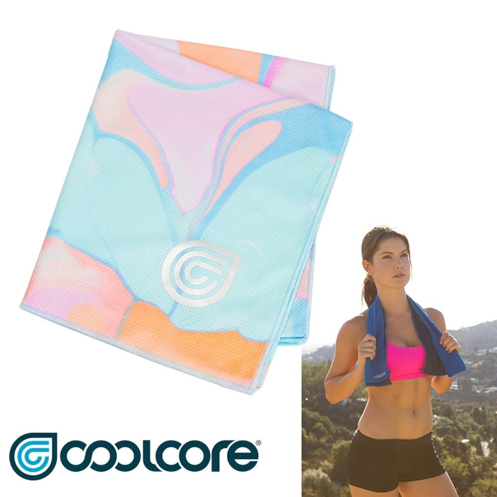 COOLCORE Chill Sport 涼感運動巾【印花系列 】大理石印花