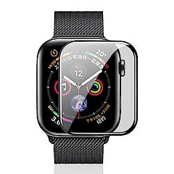 Apple Watch 4代 鋼化膜 3D曲面滿版 9H防爆 玻璃保護貼