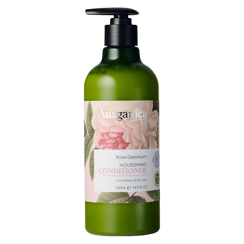 澳潔蕬Ausganica 頂級有機成份玫瑰天竺葵保濕潤絲精(500ml)