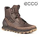 ECCO EXOSTRIKE 突破極限高筒防水運動戶外靴 男-深棕