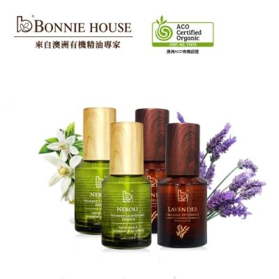 Bonnie House 超效感溫極光白青春絲絨蜜露60ml*2+薰衣草純露 60ml*2