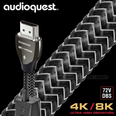 AudioQuest Diamond HDMI影音傳輸線 - 2m