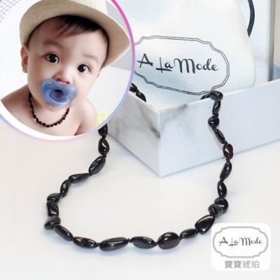 寶寶琥珀項鍊 個性寶寶款