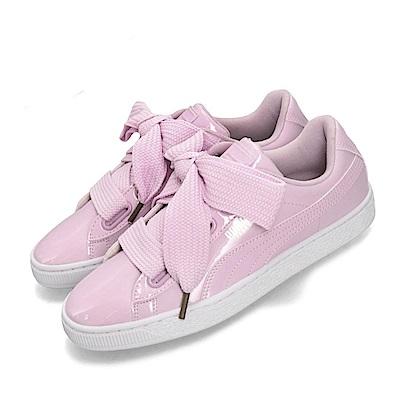 Puma休閒鞋Basket Heart Patent女鞋