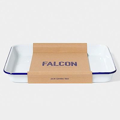 Falcon 獵鷹琺瑯 琺瑯托盤 藍白