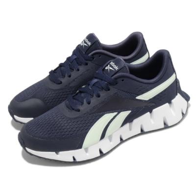 Reebok 慢跑鞋 Zig Dynamica 運動 女鞋 輕量 透氣 舒適 避震 路跑 健身 藍 白 S42638