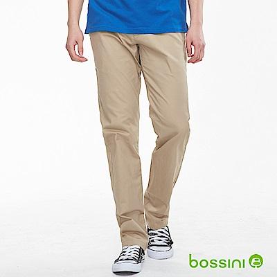 bossini男裝-修身卡其長褲02淡茶色