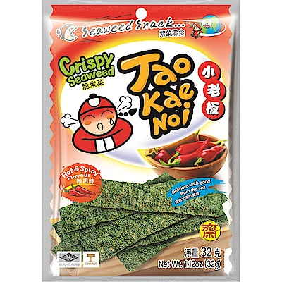 小老板 厚片海苔-辣香味(32gx6包)