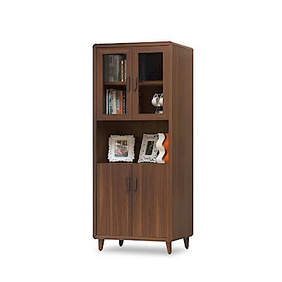 MUNA米迪亞2.7尺書櫃(書櫥)單只  80.3X40X192cm