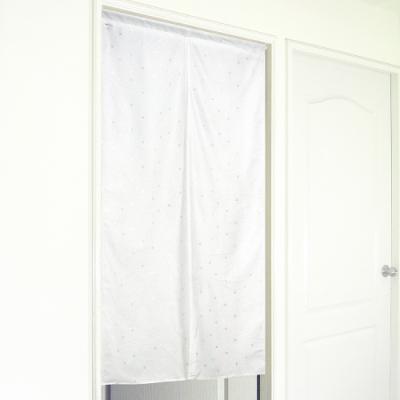 布安於室-日式白色戀人中開門簾