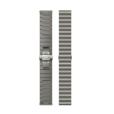 HUAWEI華為 原廠 Watch GT / GT2 金屬錶帶 - 鈦色