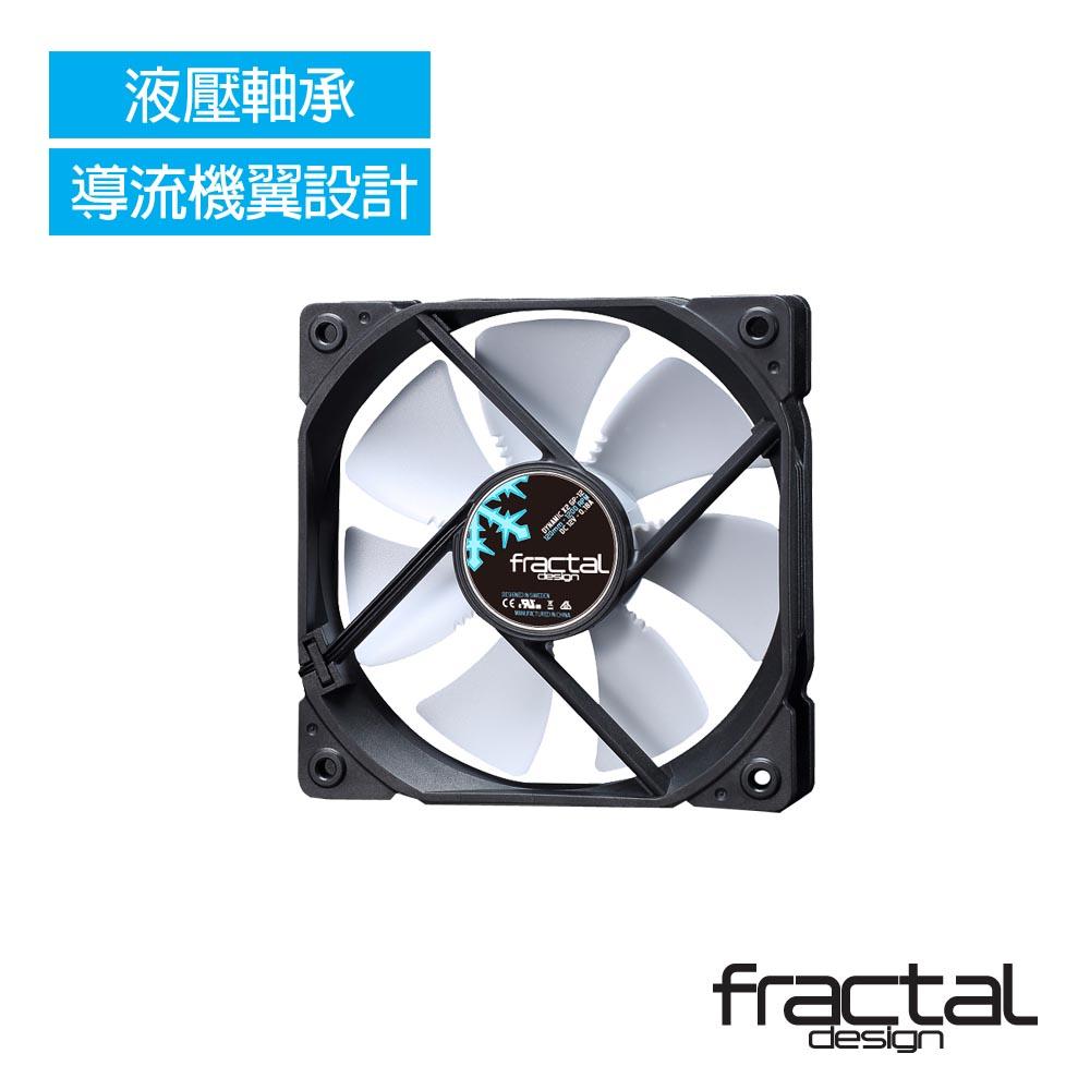 【Fractal Design】 Dynamic X2 GP-12 PWM 白 機殼系統靜