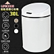 LIFECODE 炫彩智能感應不鏽鋼垃圾桶(30L-電池款)-3色可選 product thumbnail 2