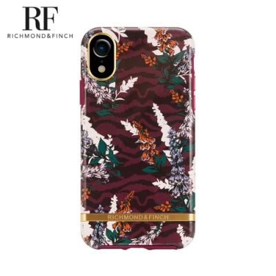 RF瑞典手機殼 金線框-斑馬花紋 (iPhone XR 6.1吋)