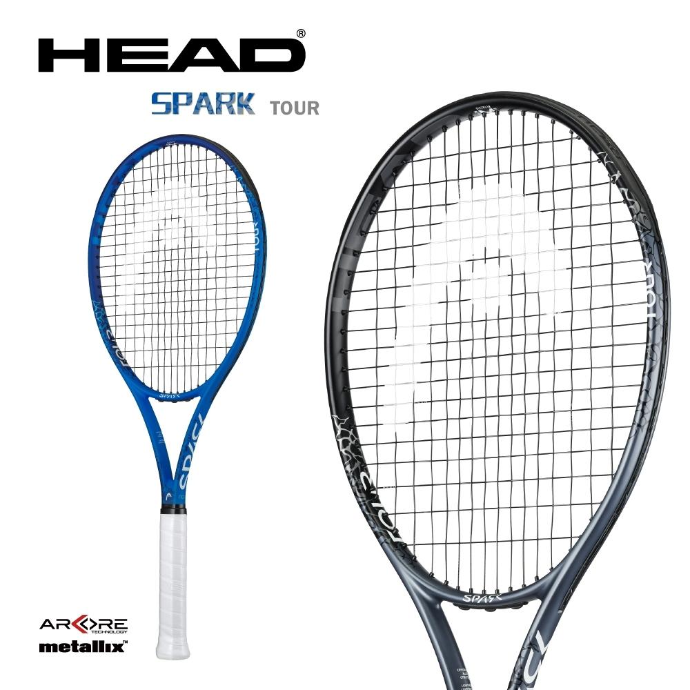 HEAD奧地利 SPARK TOUR 網球拍 233310黑/ 233300藍