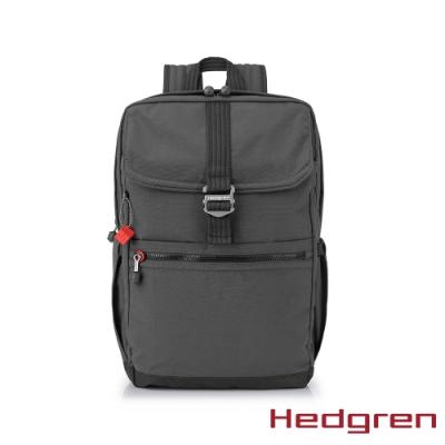 【Hedgren】GREAT綠色循環 RFID後背包-灰黑