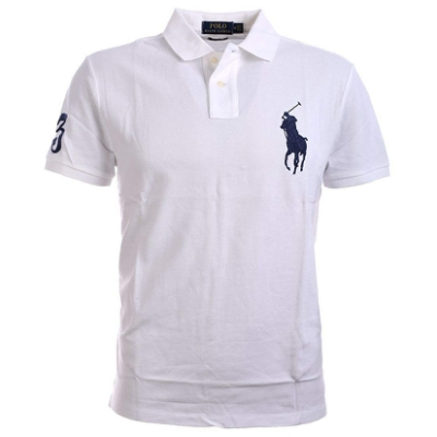 Ralph Lauren 短袖 Polo衫 素面白色 1356