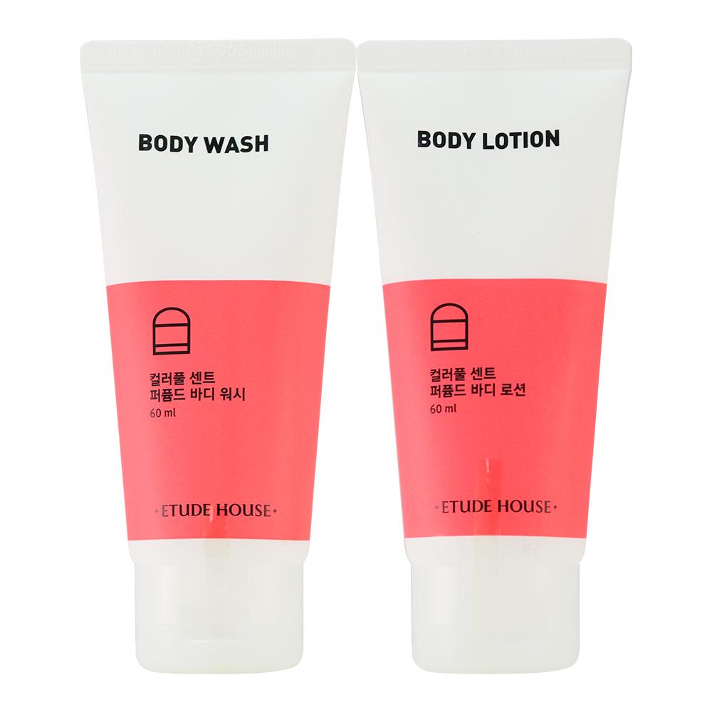 韓國Etude House 香甜沐浴乳/身體乳2入組60ml