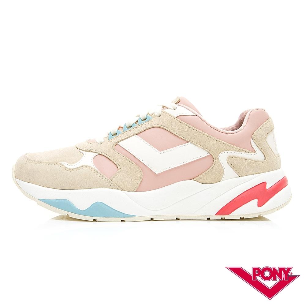 【PONY】Modern系列 復古慢跑鞋 運動鞋 潮流 舒適 球鞋 女 粉
