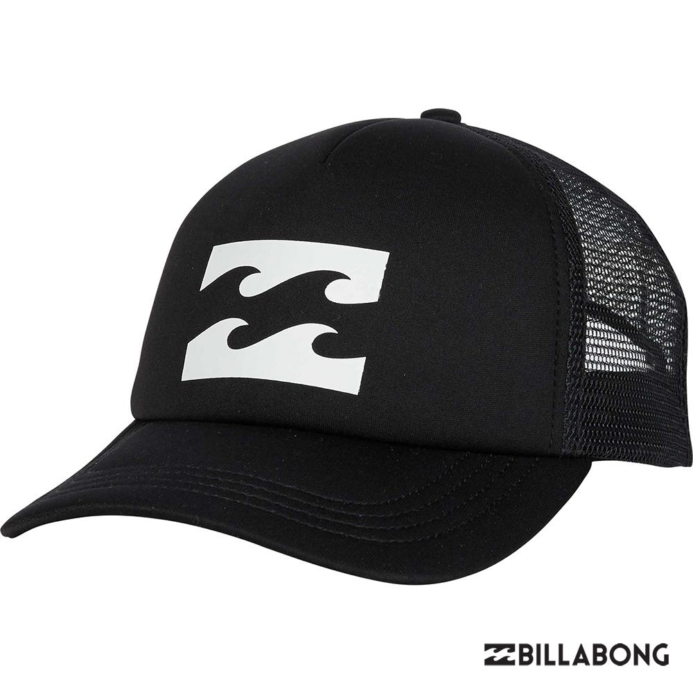 BILLABONG-BILLABONG TRUCKER棒球帽-黑