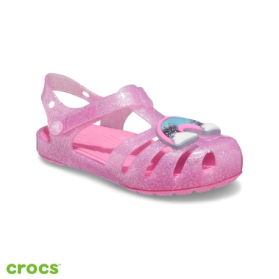 Crocs 卡駱馳 (童鞋) 伊莎貝拉蝴蝶結小涼鞋-206956-669