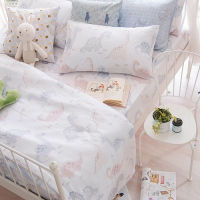 OLIVIA  小雷龍  標準單人床包冬夏兩用被套三件組 230織天絲TM萊賽爾 台灣製