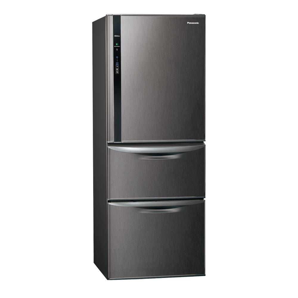 Panasonic國際牌468L三門變頻冰箱 NR-C479HV-V 絲紋黑