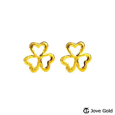 Jove gold 小確幸黃金耳環