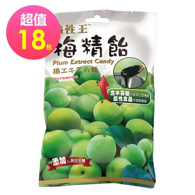 長榮生醫 鹼性王 梅精飴 68g/包 X18包